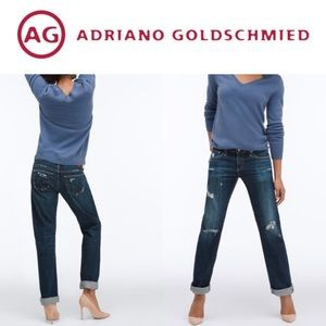 AG The Tomboy Relaxed Straight Leg Jeans